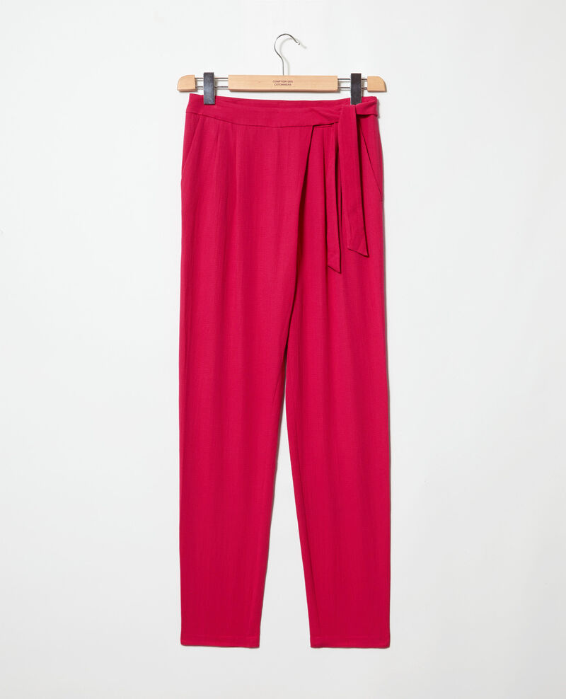 Pantalon de style sarouel Fushia Inoise
