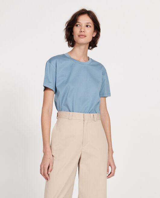 T-shirt coton manches courtes col rond BLUESTONE