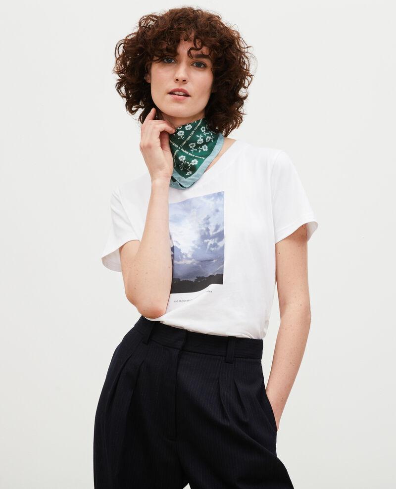 T-shirt en coton manches courtes Landes Magali