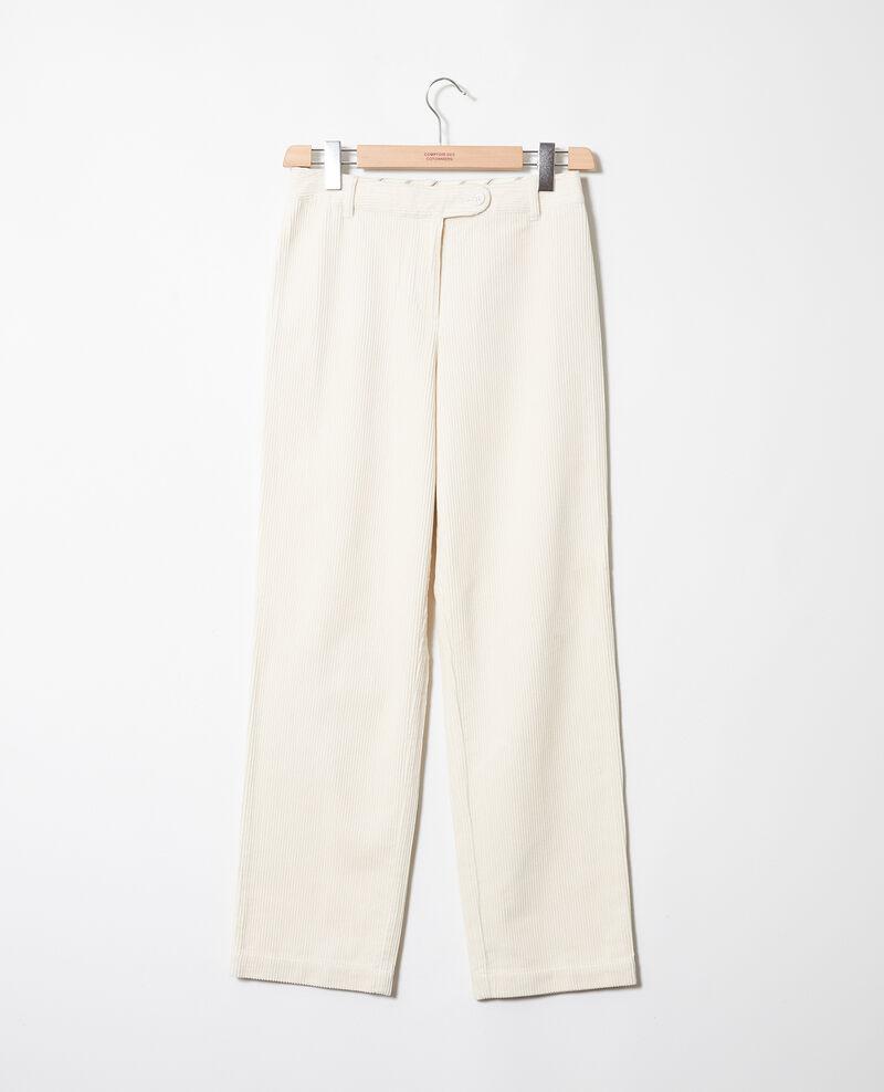 Pantalon en velours côtelé Off white Jose