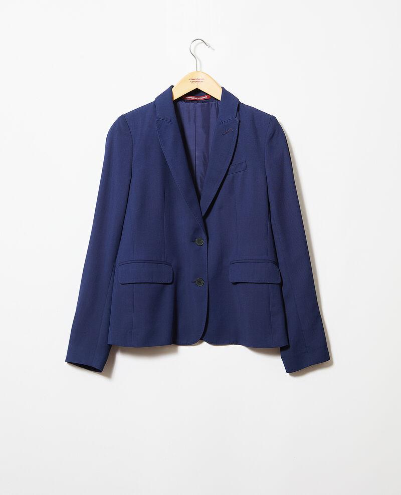Veste de costume intemporelle Bleu marine Itonnier