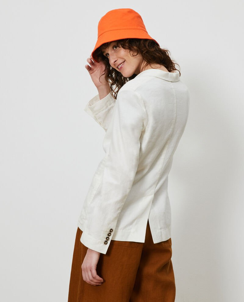 Blazer masculin en coton et lin Gardenia Lalbere