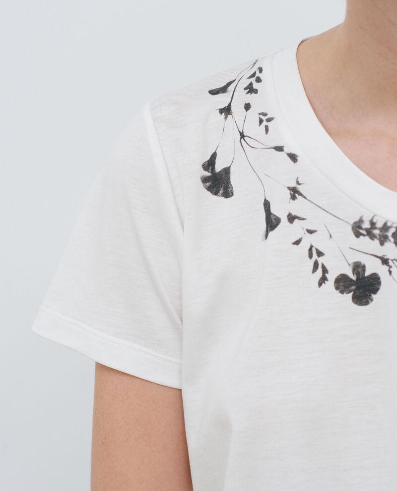 T-shirt fluide col rond Cloud dancer Preaux