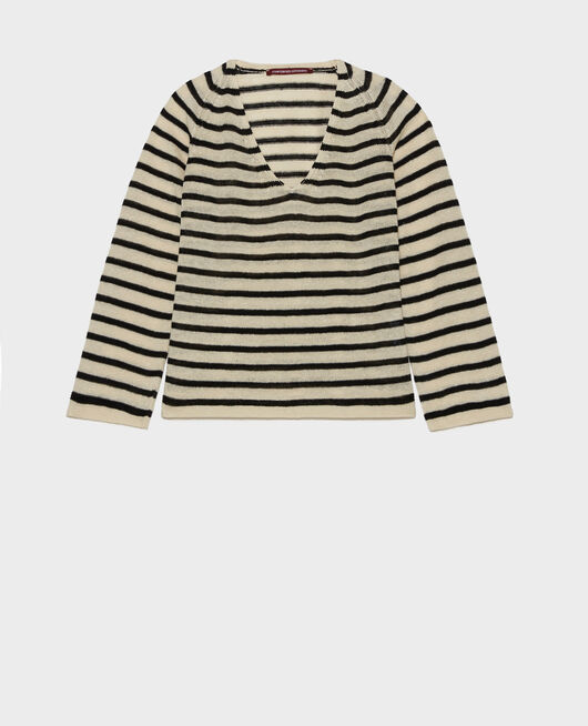 T-shirt en lin LOGRON_5059