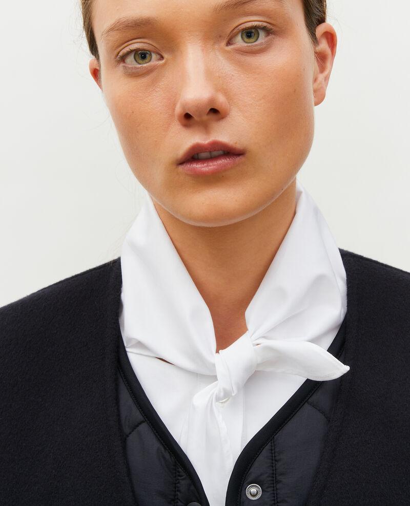 Manteau en laine double face Black beauty Muuck