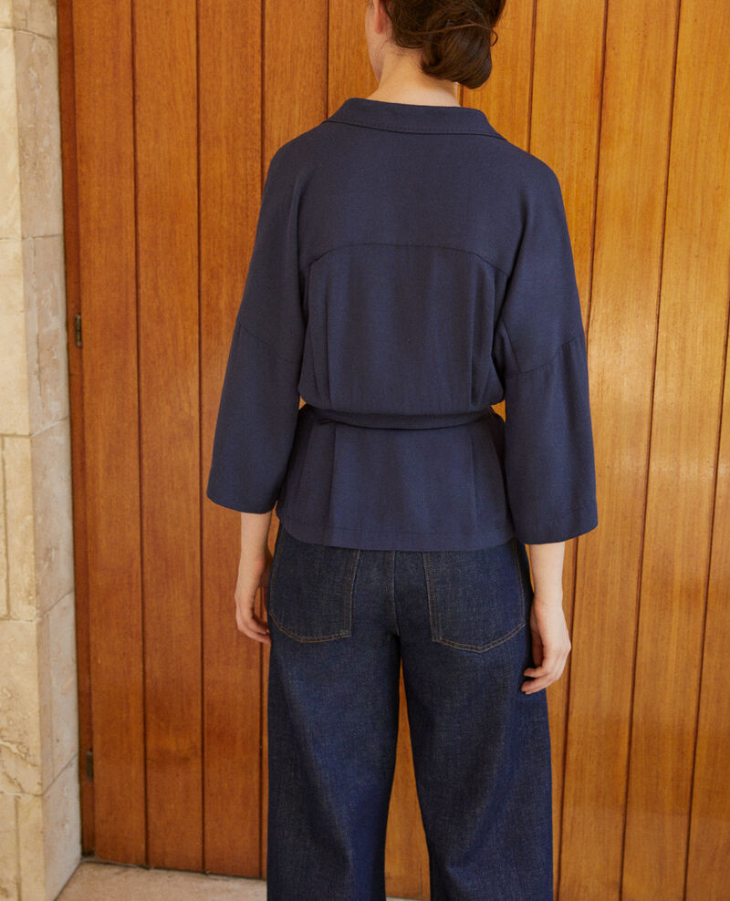 Blouse portefeuille Peacoat Guidell