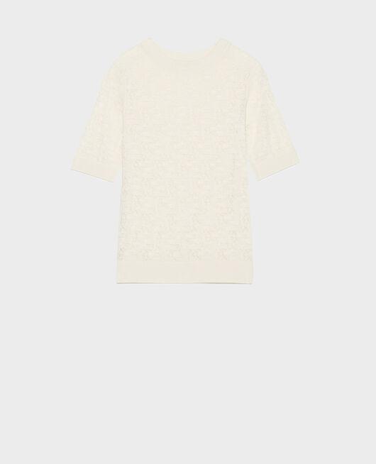 T-Shirt en maille pointelle BUTTERCREAM
