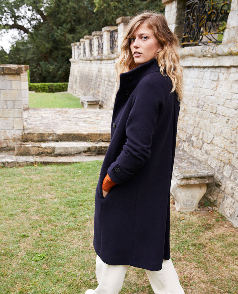 Manteau intemporel Dark navy Jaddition