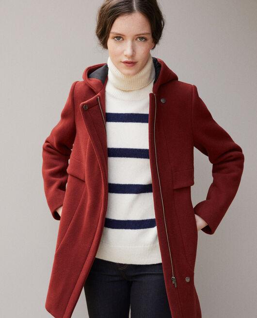 Manteau avec capuche VELVET
