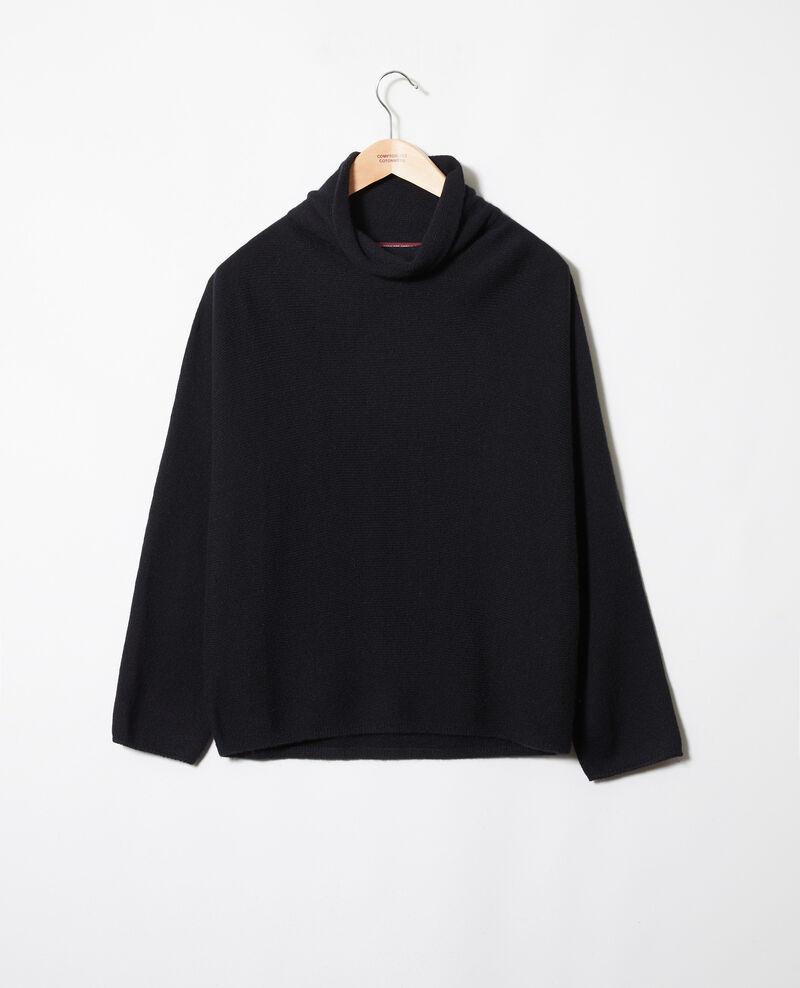 Pull 100% cachemire Noir Jinette