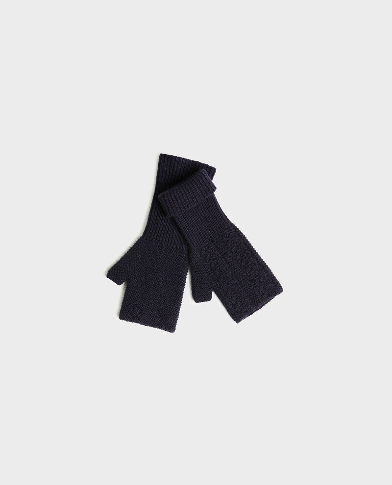 Gants mitaines en cachemire Night sky Mirabel