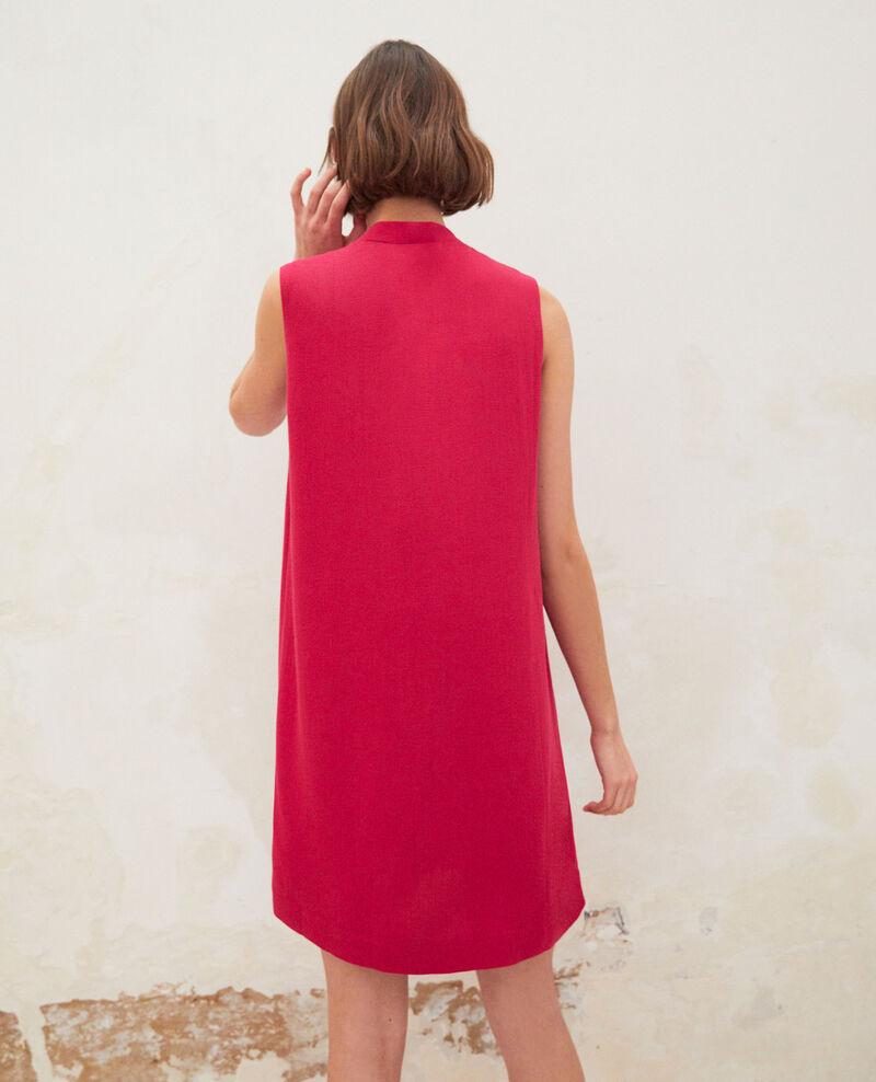 Robe avec lavallière amovible Fushia Iolandi