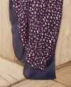 Foulard imprimé léopard Potent purple Jeop