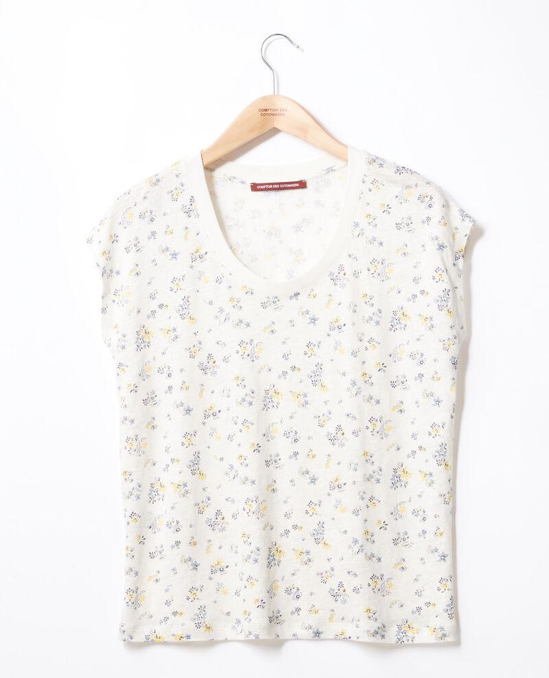 T-shirt imprimé fleuri Lillybell kaolin Franka