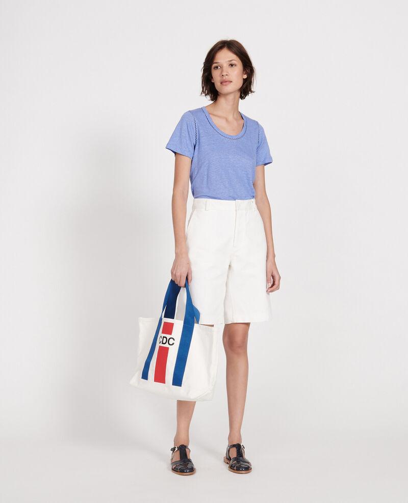 T-shirt en lin jersey  Persian jewel Lye