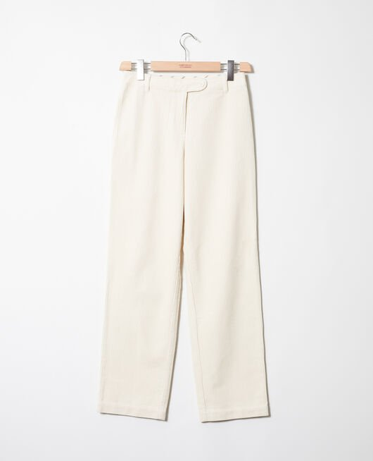 Pantalon en velours côtelé OFF WHITE