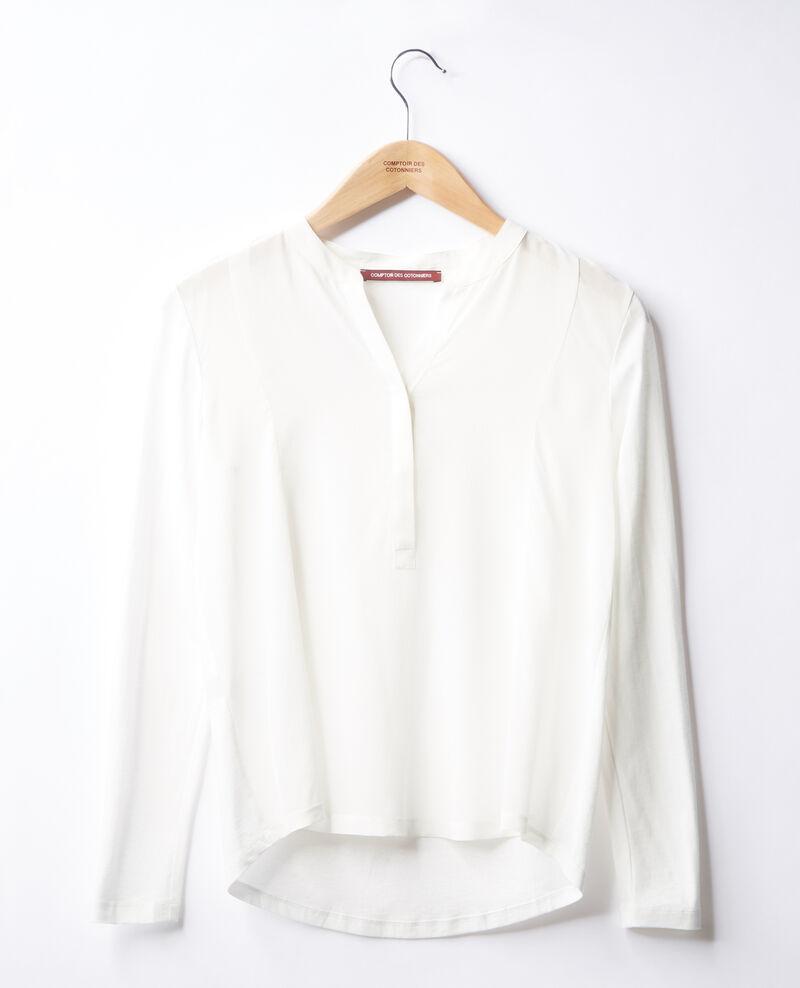 T-Shirt bi-matière Off white Farly