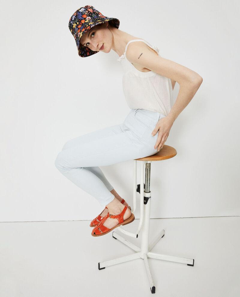 DANI - SKINNY - Jean taille haute Bleach blue Naira 1