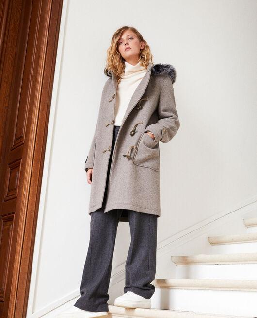Manteau de style duffle-coat GREY/BEIGE