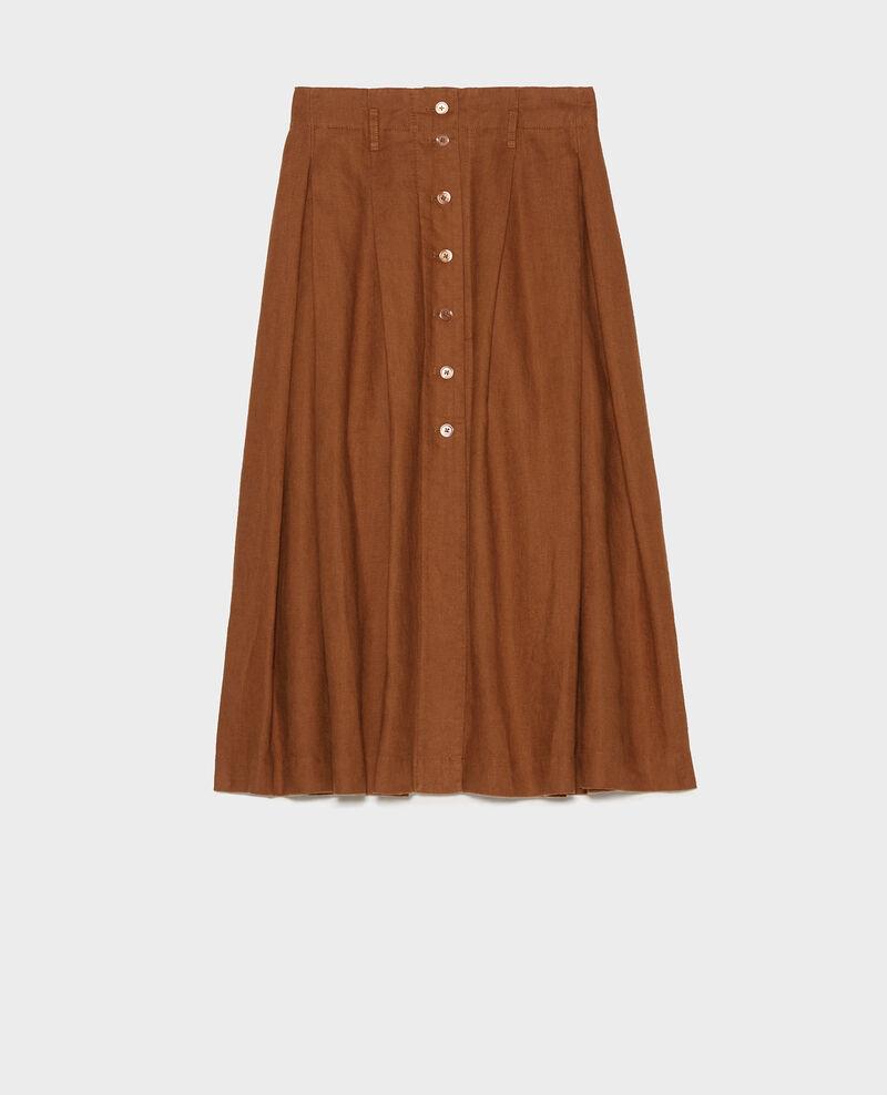 Jupe mi-longue Monks robe Lorlange