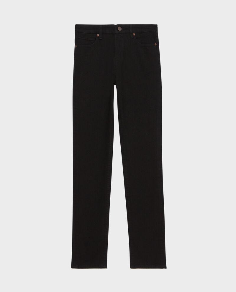 LILI - SLIM - Jean noir 5 poches Noir denim Pandrac