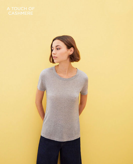 T-shirt intemporel HEATHER GREY