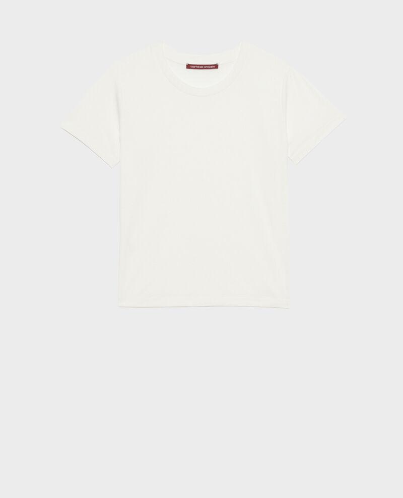 T-shirt fluide col rond Cloud dancer Pirous
