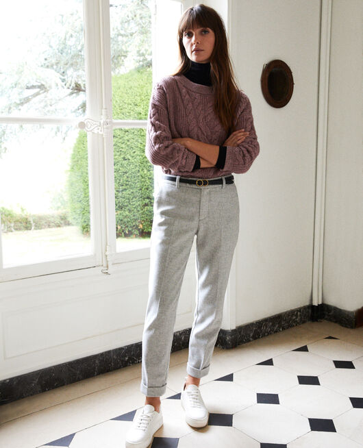 Pantalon de tailleur  LIGHT GREY