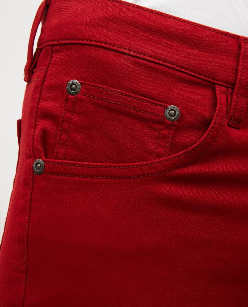 SKINNY - Jean 5 poches Royale red Mozakiny