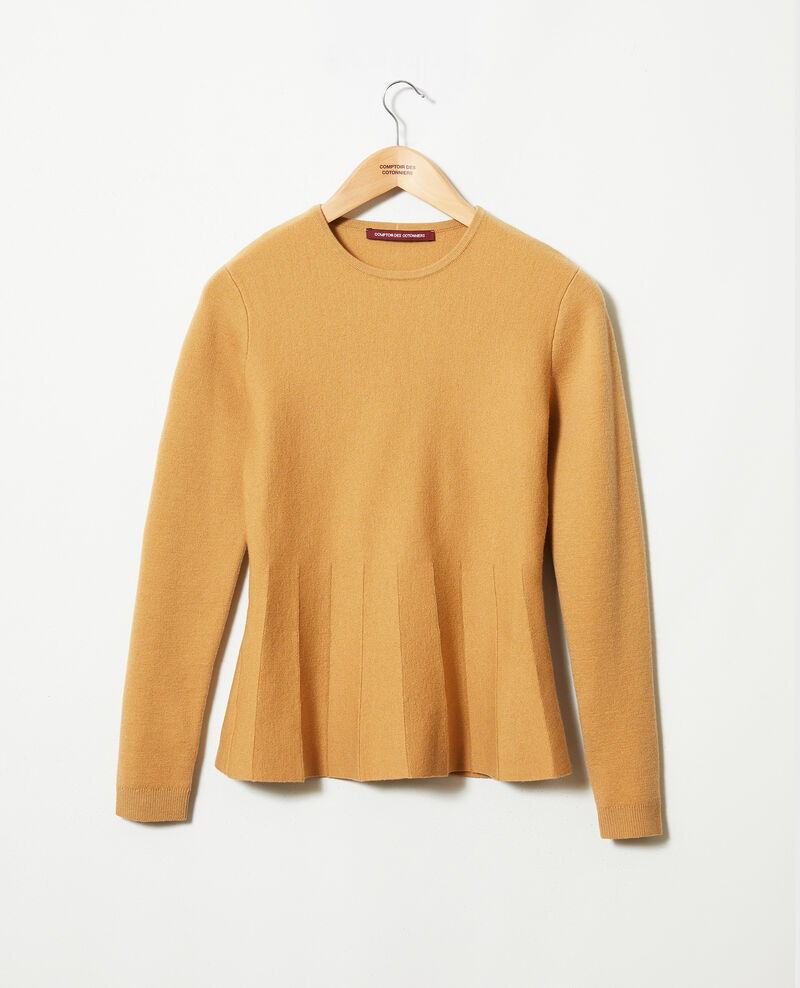 Pull col rond Iced coffee Jamoiselle