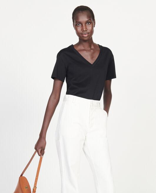 T-shirt en coton égyptien BLACK BEAUTY
