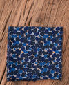 Foulard imprimé Blossom shadow indigo Flisse
