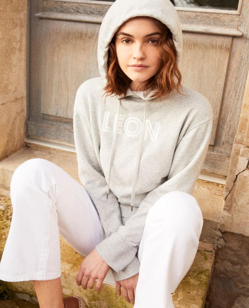 Sweatshirt brodé Léon Heather gr/ow Inou