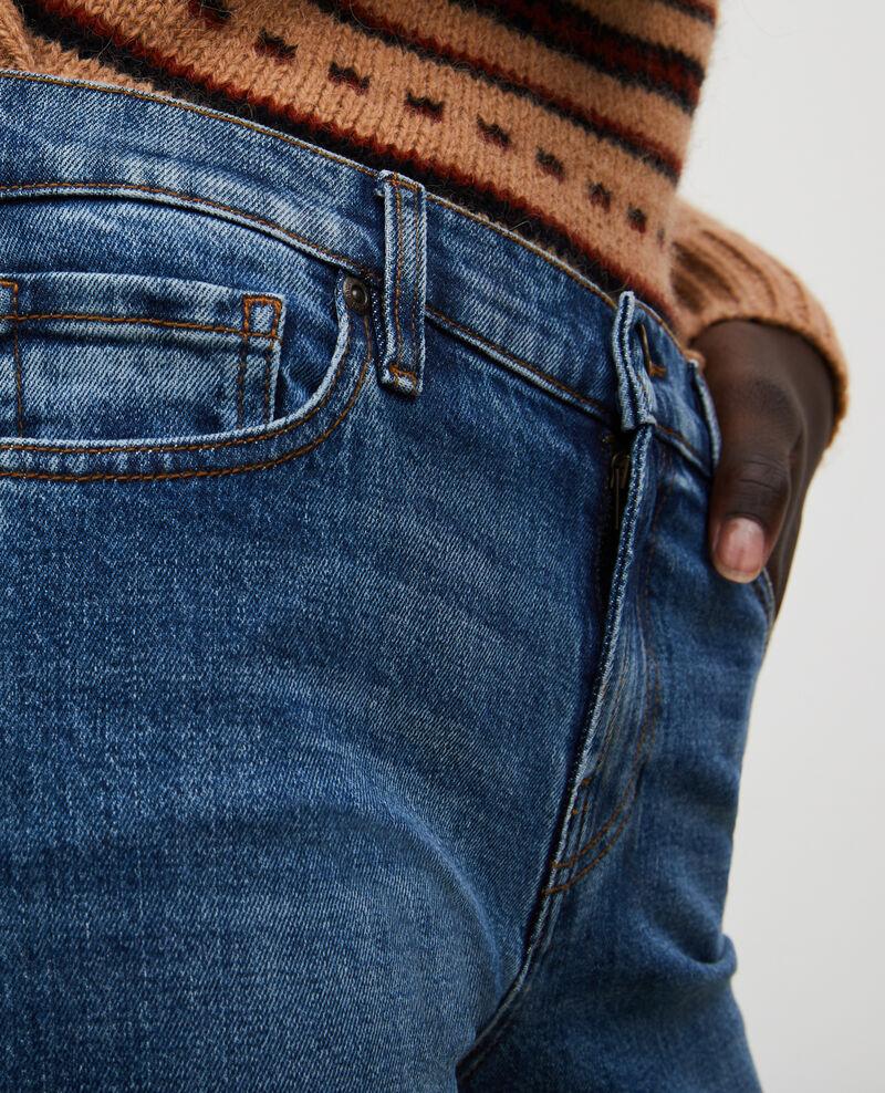 SLIM MID RISE - Jean 5 poches Denim medium wash Mandro