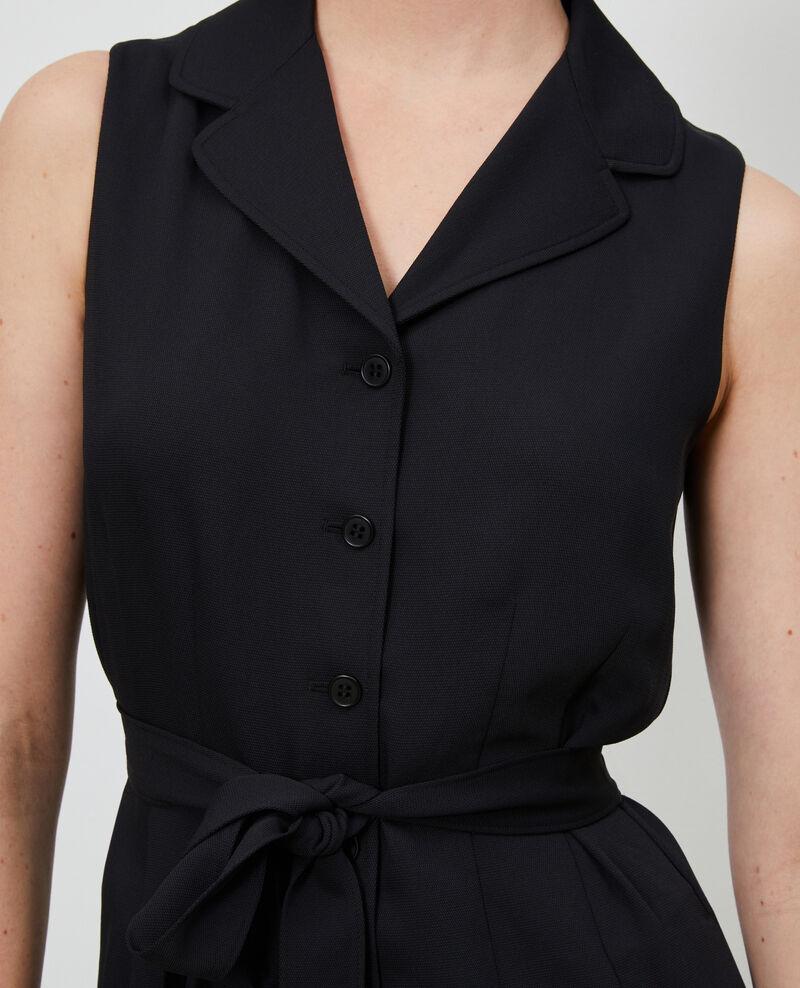 Combinaison col tailleur Black beauty Narp