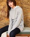 Sweatshirt à capuche Light grey Jasette