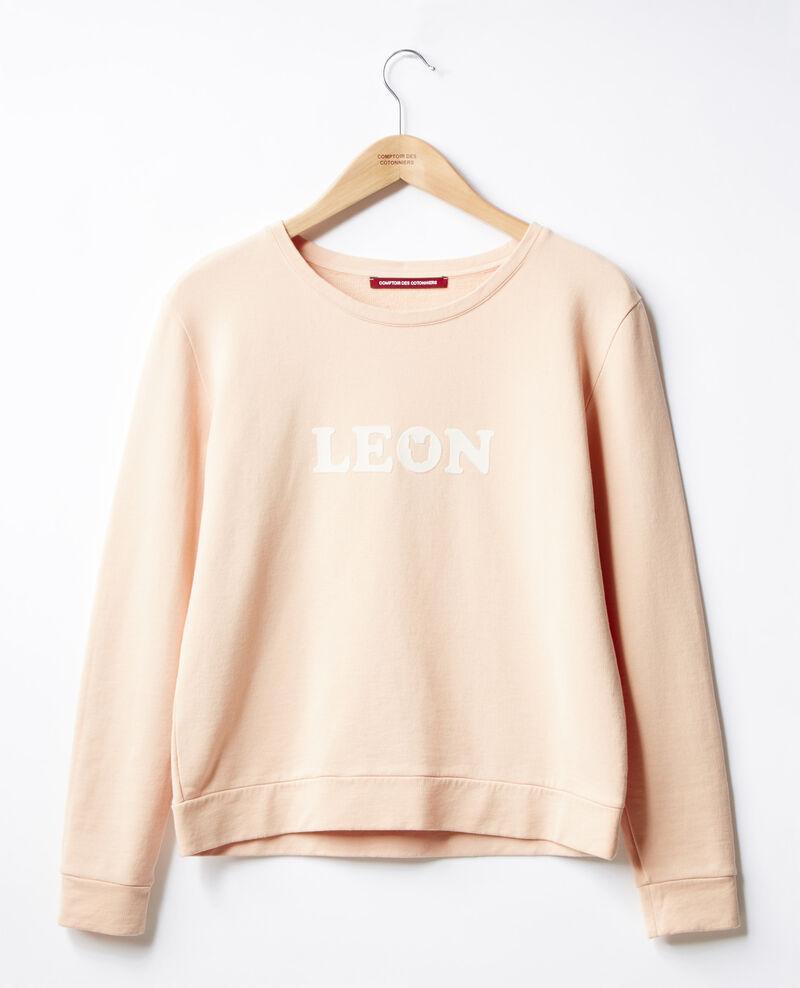 Sweatshirt Léon brodé Nude Douchoir