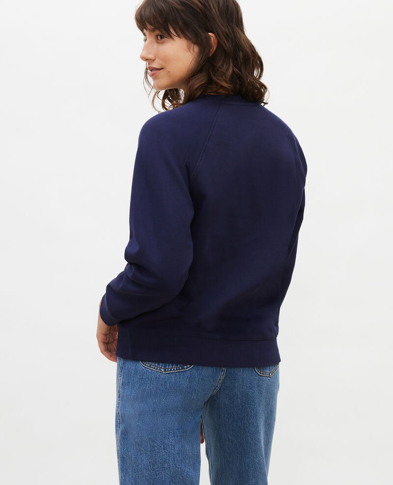 Sweatshirt en molleton Maritime blue Lison