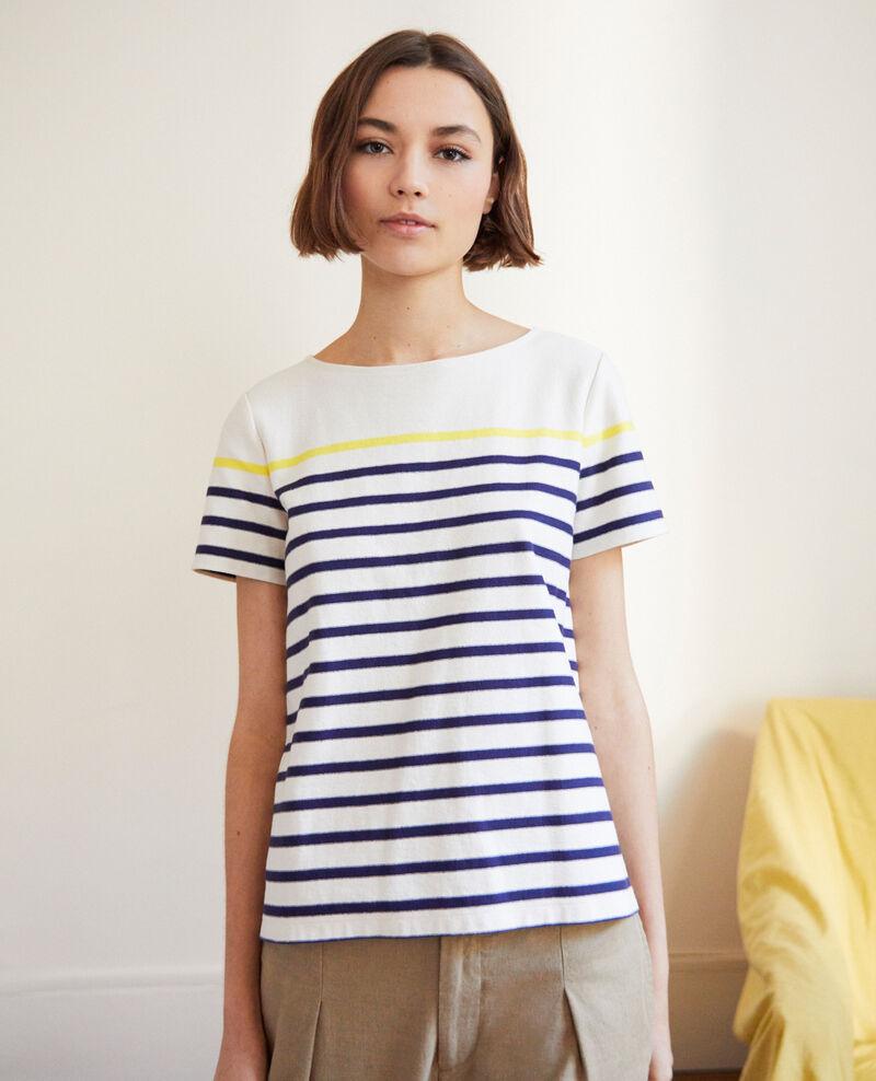 T-shirt marinière Ow/navy/yello Imarin