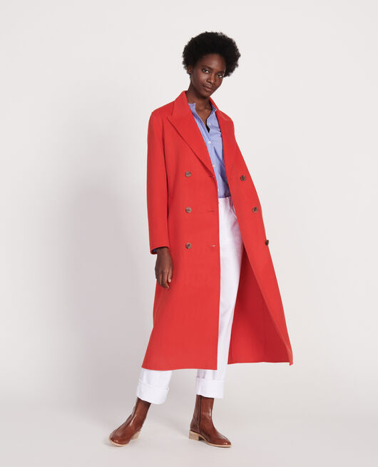 Manteau long FIERY RED