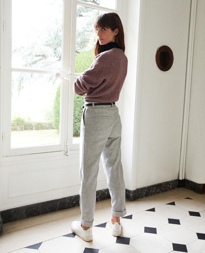 Pantalon de tailleur  Light grey Jokya
