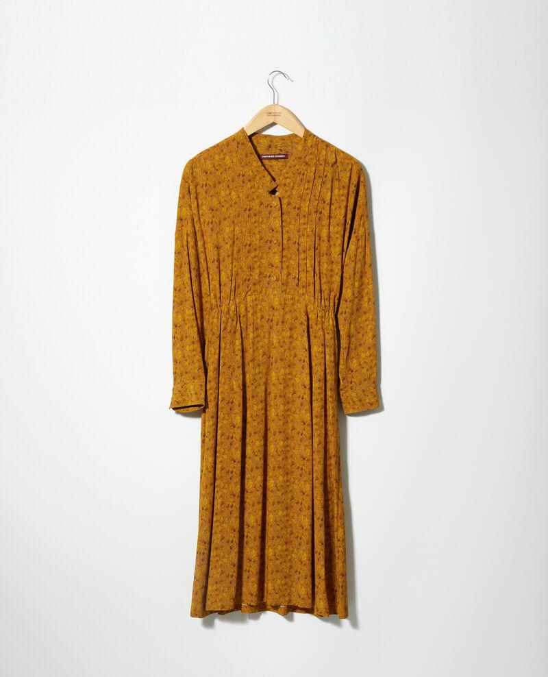 Robe imprimée Ld golden spice Geviana