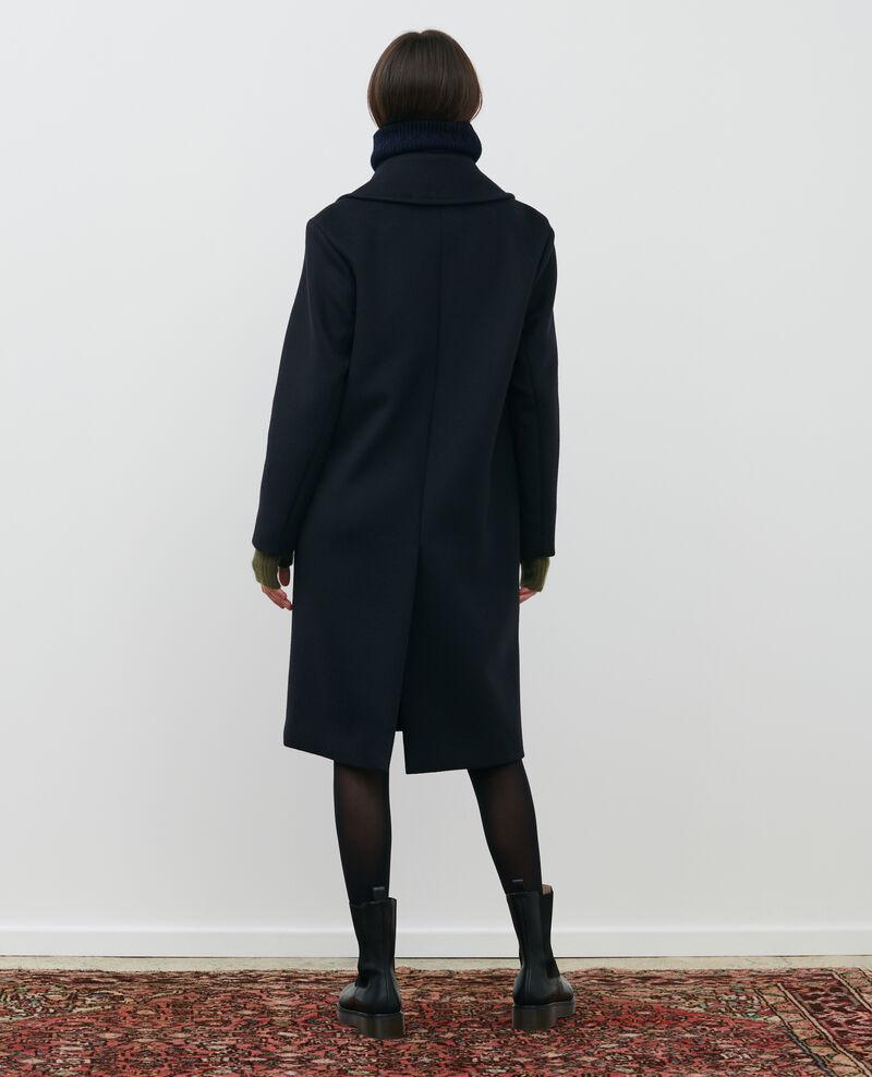 Pardessus masculin en laine et cachemire Black beauty Maule