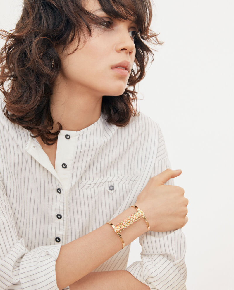Bracelet manchette Gold Filante