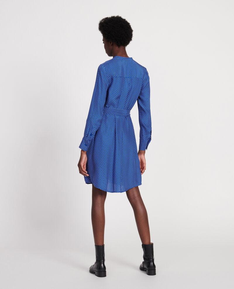 Outlet Robes Soie Taille Taille 3 Bleu Comptoir Des Cotonniers