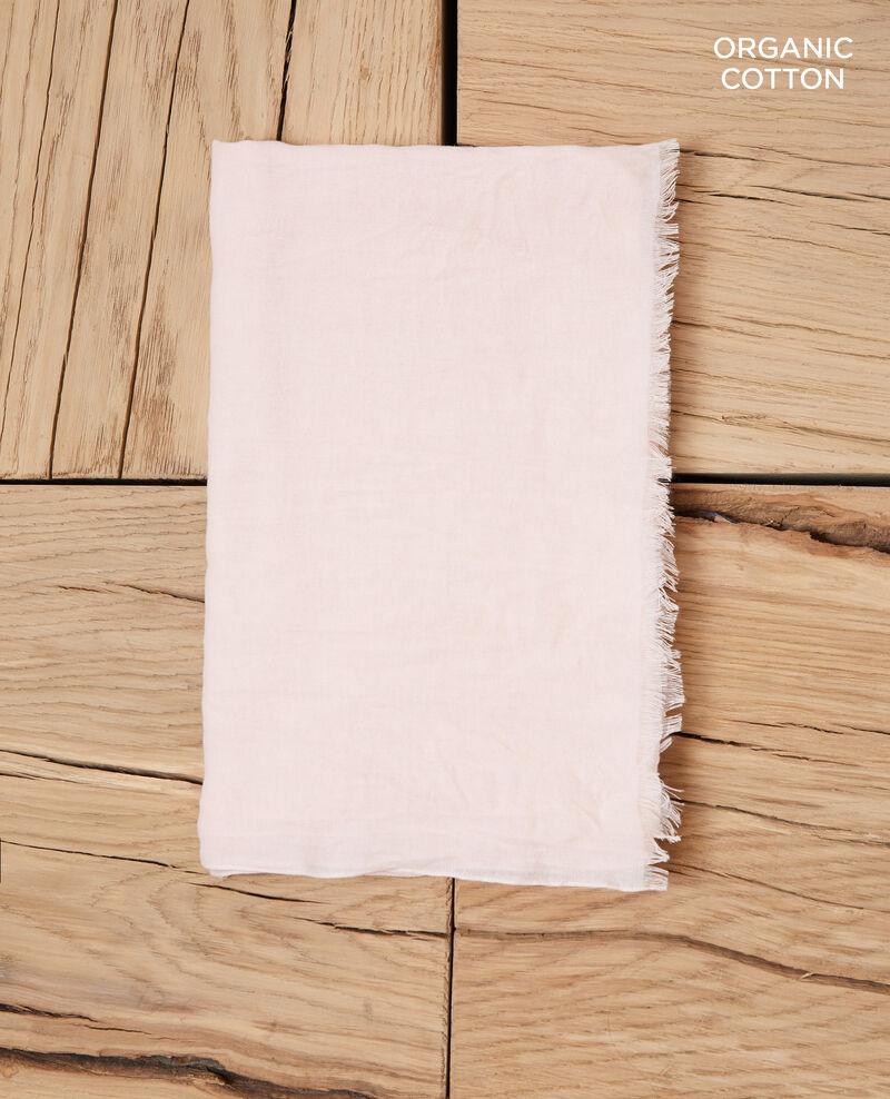 Foulard en coton organique Light pink Geste