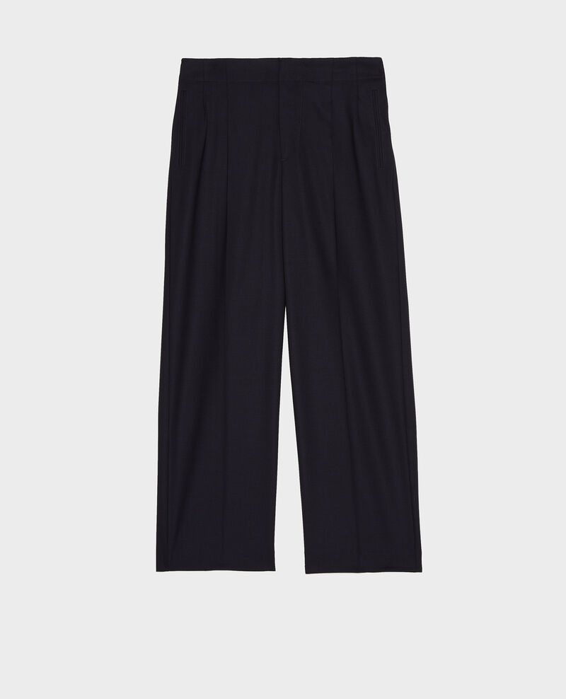 Pantalon court Dark navy Lanethi