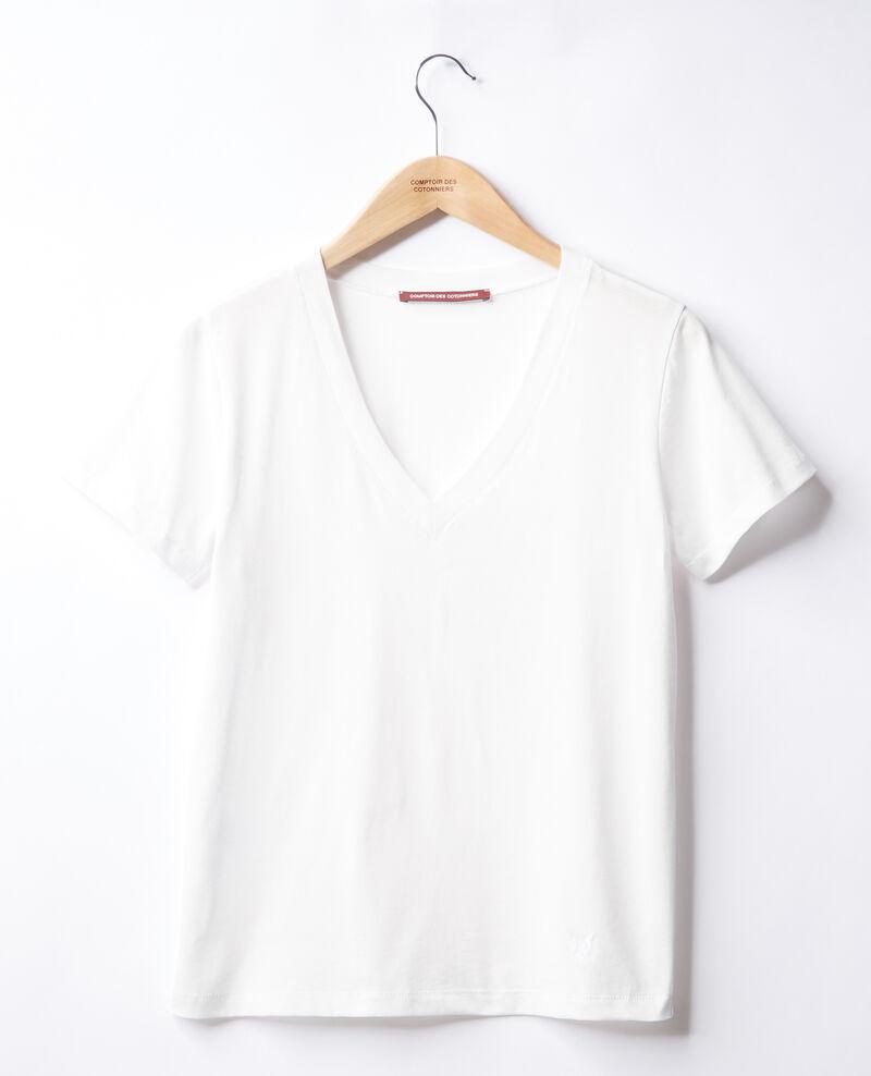 T-Shirt brodé Léon Off white Fallen