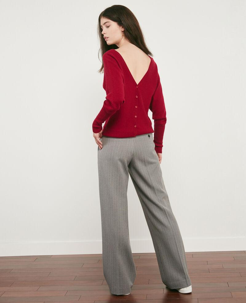 Pantalon ample avec laine Grey Declic
