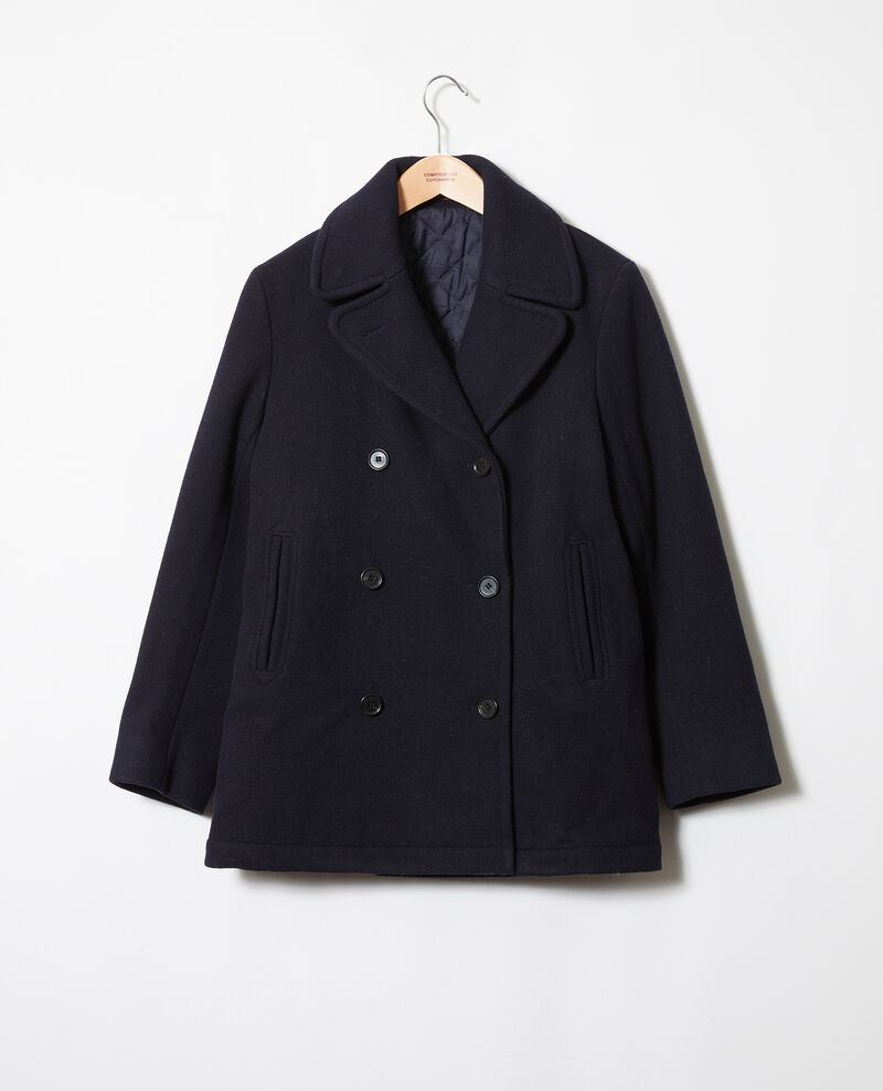 Caban double boutonnage Dark navy Jouter